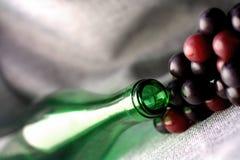 αφηρημένο κρασί γυαλικών &sigma Στοκ Εικόνα
