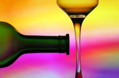 αφηρημένο κρασί σχεδίου Στοκ Εικόνα