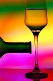 αφηρημένο κρασί σχεδίου Στοκ Φωτογραφία
