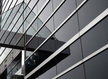 Αφηρημένο κτήριο γυαλιού στοκ εικόνες