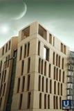 αφηρημένο κτήριο σύγχρονο Στοκ φωτογραφία με δικαίωμα ελεύθερης χρήσης