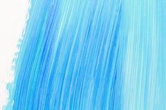 Αφηρημένο κυανό χρωματισμένο χέρι υπόβαθρο στοκ εικόνα με δικαίωμα ελεύθερης χρήσης