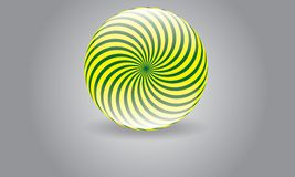 Αφηρημένο κυκλικό διανυσματικό στρογγυλευμένο Moder λογότυπο λογότυπων σφαιρών Στοκ φωτογραφία με δικαίωμα ελεύθερης χρήσης