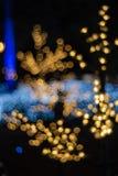 Αφηρημένο κυκλικό bokeh του φωτός που θολώνεται Στοκ φωτογραφίες με δικαίωμα ελεύθερης χρήσης
