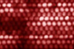 Αφηρημένο κυκλικό κόκκινο υπόβαθρο bokeh Στοκ Εικόνες