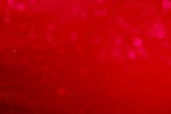 Αφηρημένο κυκλικό κόκκινο bokeh Στοκ φωτογραφία με δικαίωμα ελεύθερης χρήσης