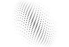 Αφηρημένο κυματιστό ημίτονο σχέδιο Φουτουριστική επιτροπή Διαστιγμένο Grunge σκηνικό με τους κύκλους, σημεία, σημείο Στοκ φωτογραφία με δικαίωμα ελεύθερης χρήσης