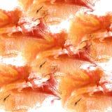 Αφηρημένο κόκκινο, καφετί νερό βουρτσών watercolor μελανιού κτυπήματος σχεδίων ομο Στοκ εικόνα με δικαίωμα ελεύθερης χρήσης