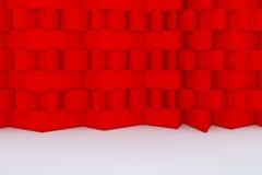 αφηρημένο κόκκινο οικοδόμησης κτηρίου Στοκ φωτογραφία με δικαίωμα ελεύθερης χρήσης