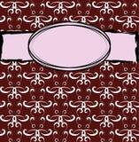 Αφηρημένο κόκκινο πλαίσιο διανυσματική απεικόνιση