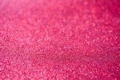 Αφηρημένο κόκκινο υπόβαθρο gliter Στοκ Φωτογραφία