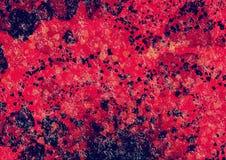 Αφηρημένο κόκκινο aqua, ταπετσαρία νερού bokeh Στοκ εικόνα με δικαίωμα ελεύθερης χρήσης