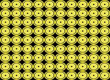 Αφηρημένο κύκλων υπόβαθρο σχεδίων μορφής άνευ ραφής Στοκ Φωτογραφίες