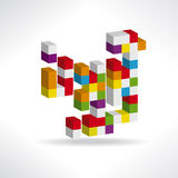 Αφηρημένο λογότυπο απεικόνιση αποθεμάτων