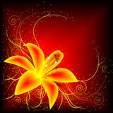 αφηρημένο λουλούδι Στοκ Εικόνα