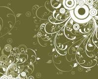αφηρημένο λουλούδι διανυσματική απεικόνιση