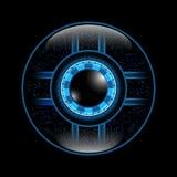 Αφηρημένο μάτι τεχνολογίας υποβάθρου διανυσμάτων Στοκ φωτογραφία με δικαίωμα ελεύθερης χρήσης
