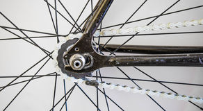 Αφηρημένο μέρος του ποδηλάτου Στοκ εικόνα με δικαίωμα ελεύθερης χρήσης