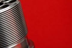αφηρημένο μέταλλο ανασκόπ&eta Στοκ Εικόνα