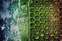 αφηρημένο μέταλλο ανασκόπ&eta Στοκ φωτογραφίες με δικαίωμα ελεύθερης χρήσης