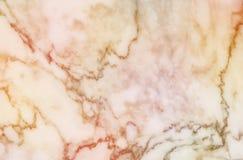 Αφηρημένο μαρμάρινο σχέδιο επιφάνειας κινηματογραφήσεων σε πρώτο πλάνο στο καφετί μαρμάρινο υπόβαθρο σύστασης τοίχων πετρών Στοκ Φωτογραφίες