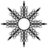 Αφηρημένο μαύρο εργαλείο Στοκ Εικόνες