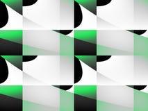 Αφηρημένο μαύρο και πράσινο υπόβαθρο Στοκ εικόνα με δικαίωμα ελεύθερης χρήσης