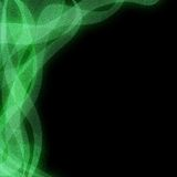 Αφηρημένο μαύρο και πράσινο υπόβαθρο διανυσματική απεικόνιση