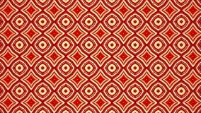 Αφηρημένο μεταβαλλόμενο μωσαϊκό στο κόκκινο διανυσματική απεικόνιση