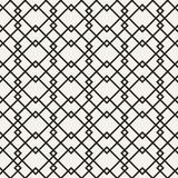 Αφηρημένο μονοχρωματικό γεωμετρικό σχέδιο έννοιας Γραπτό ελάχιστο υπόβαθρο Δημιουργικό πρότυπο απεικόνισης seamless Στοκ εικόνα με δικαίωμα ελεύθερης χρήσης