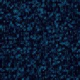 Αφηρημένο μπλε άνευ ραφής υπόβαθρο τεχνολογίας Στοκ Εικόνες