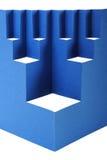 αφηρημένο μπλε έγγραφο σύν&the στοκ φωτογραφία με δικαίωμα ελεύθερης χρήσης