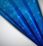 αφηρημένο μπλε ανασκόπησης Στοκ Φωτογραφία