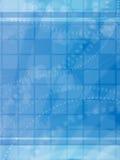 αφηρημένο μπλε ανασκόπηση&sig Στοκ Φωτογραφία