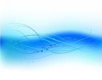αφηρημένο μπλε κύμα σχεδίου Στοκ φωτογραφίες με δικαίωμα ελεύθερης χρήσης