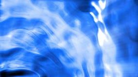 Αφηρημένο μπλε λαμπρό υγρό υπόβαθρο φιλμ μικρού μήκους