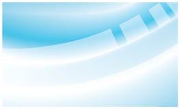 αφηρημένο μπλε λευκό ανα&sigm Στοκ φωτογραφία με δικαίωμα ελεύθερης χρήσης