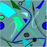 Αφηρημένο μπλε μαύρο υπόβαθρο, άνευ ραφής σχέδιο 18-19 Στοκ εικόνες με δικαίωμα ελεύθερης χρήσης