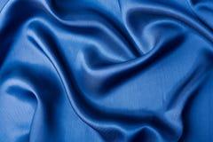 αφηρημένο μπλε μετάξι ανασ&ka Στοκ Εικόνες
