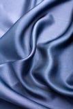 αφηρημένο μπλε μετάξι ανασ&ka Στοκ φωτογραφίες με δικαίωμα ελεύθερης χρήσης