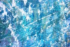 Αφηρημένο μπλε με το μαύρο καλλιτεχνικό χρωματισμένο υπόβαθρο διανυσματική απεικόνιση