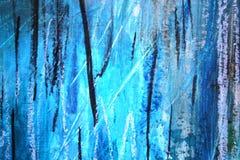 Αφηρημένο μπλε με το μαύρο καλλιτεχνικό χρωματισμένο υπόβαθρο στοκ φωτογραφία με δικαίωμα ελεύθερης χρήσης