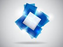 αφηρημένο μπλε πρότυπο Στοκ φωτογραφίες με δικαίωμα ελεύθερης χρήσης