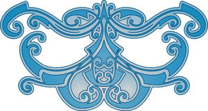 αφηρημένο μπλε πρότυπο Στοκ εικόνες με δικαίωμα ελεύθερης χρήσης