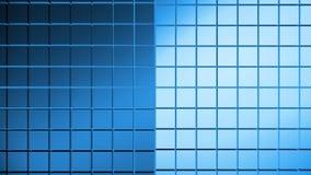 Αφηρημένο μπλε υπόβαθρο σκηνής Στοκ Φωτογραφίες
