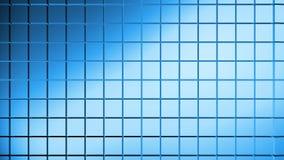 Αφηρημένο μπλε υπόβαθρο σκηνής Στοκ Εικόνες