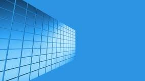Αφηρημένο μπλε υπόβαθρο σκηνής Στοκ εικόνες με δικαίωμα ελεύθερης χρήσης