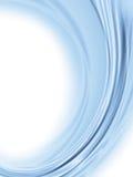 αφηρημένο μπλε φως ανασκόπησης Στοκ Φωτογραφία