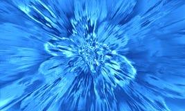 αφηρημένο μπλε φως Στοκ Φωτογραφίες
