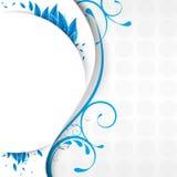 αφηρημένο μπλε φύλλωμα αν&alpha ελεύθερη απεικόνιση δικαιώματος